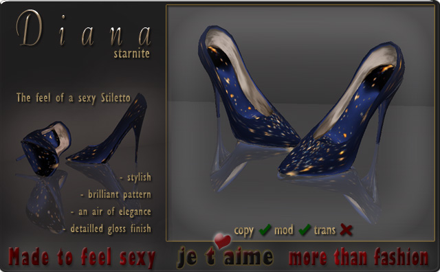 Pumps Stiletto *Diana* starnite